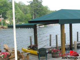 custom boathouse & dock canopies 13