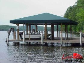 custom boathouse & dock canopies 18