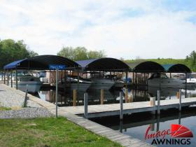 custom boathouse & dock canopies 16