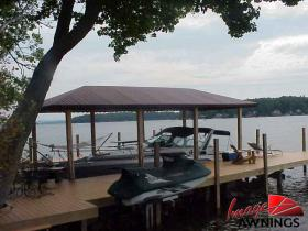 custom boathouse & dock canopies 17