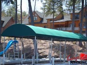 custom boathouse & dock canopies 3