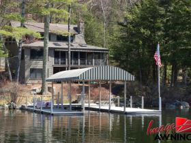 custom boathouse & dock canopies 5