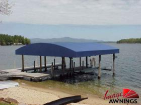 custom boathouse & dock canopies 21