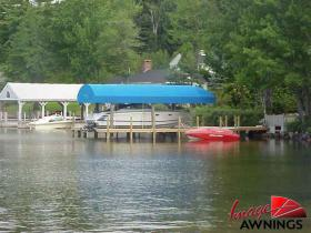 custom boathouse & dock canopies 15