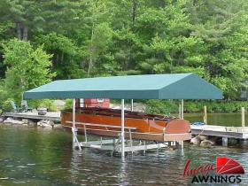 custom boathouse & dock canopies 19
