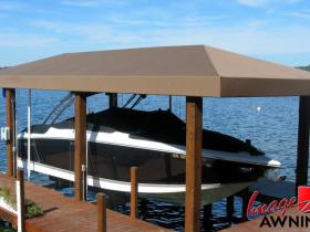 custom boathouse & dock canopies 14