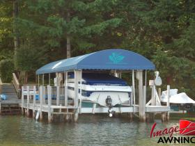 custom boathouse & dock canopies 9