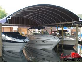 custom boathouse & dock canopies 11